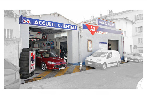 Route occasion ford chambourcy for Garage ad sainte foy de peyroliere